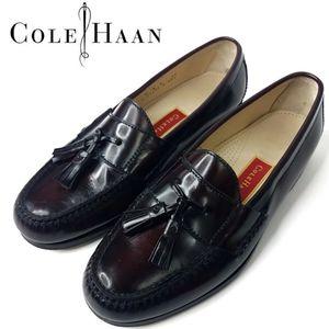 Cole Haan Pinch Tassel Loafer Burgundy 9e